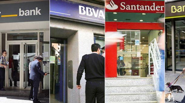 Foto: Oficinas de bancos españoles.