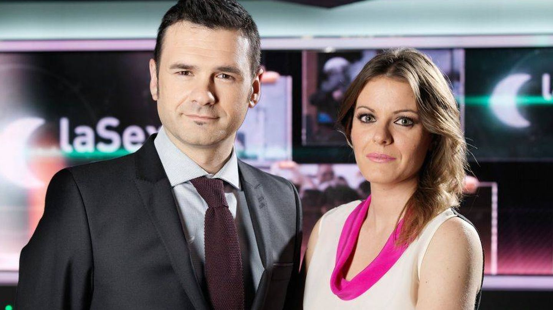 Iñaki López y Andrea Ropero. (Atresmedia)