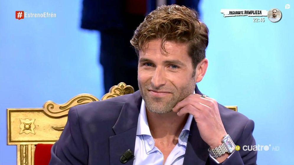 Foto: Efrén en 'MYHYV'. (Mediaset España)