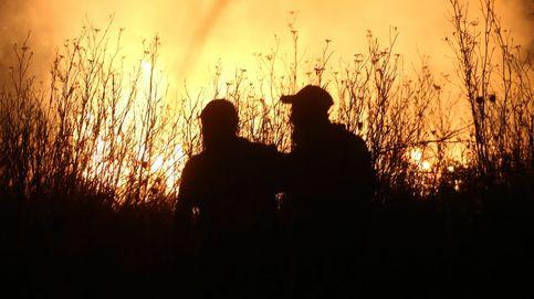 Un 'malagueño' en el infierno de Grecia: Si el fuego llega hasta aquí, será imparable