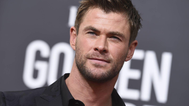 Chris Hemsworth durante los Globos de Oro. (Gtres)