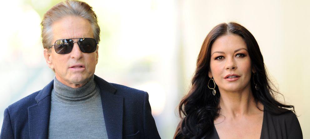 Foto: Michael Douglas y Catherine Zeta Jones en una imagen de archivo (I.C.)