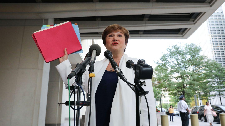 La directora gerente del FMI, Kristalina Georgieva. (Reuters)