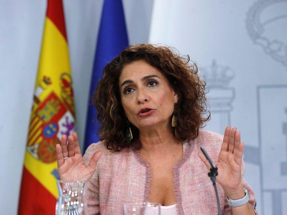 Foto: La ministra de Hacienda en funciones, María Jesús Montero (Efe).