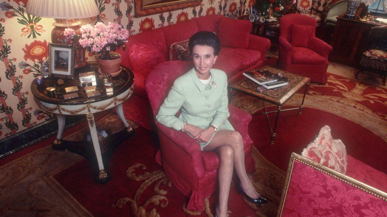 La condesa de Romanones en su mansión de El Viso, en Madrid. (Getty)