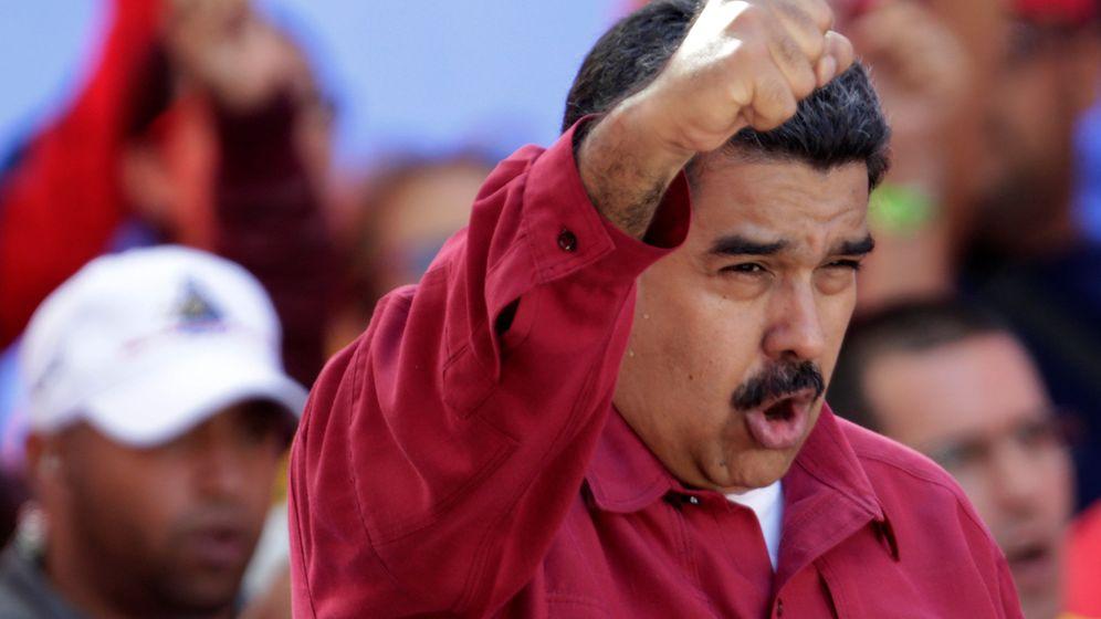 Foto: El presidente de Venezuela, Nicolás Maduro, en Caracas. (Efe)