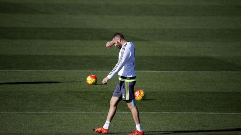 Benzema no acaba el entrenamiento y Keylor Navas sigue al margen del grupo