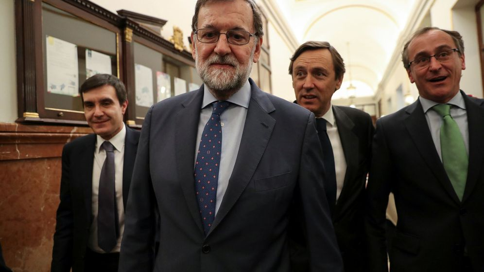 Foto: Spain's pm mariano rajoy leaves after budget debate at parliament in madrid