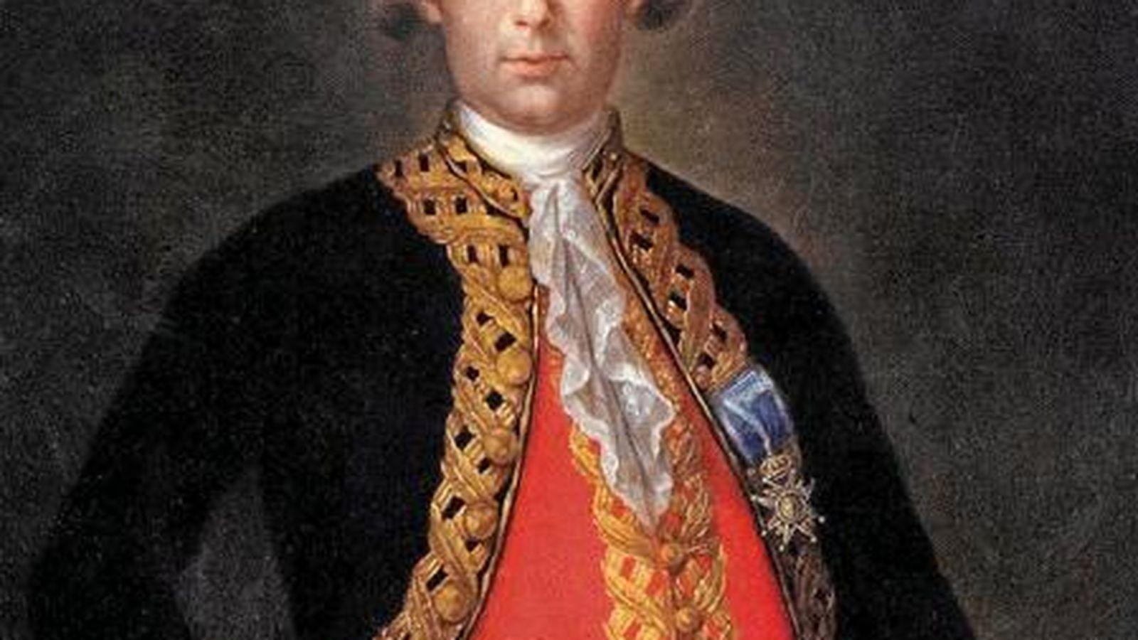Foto: El militar español Bernardo de Gálvez (CC)