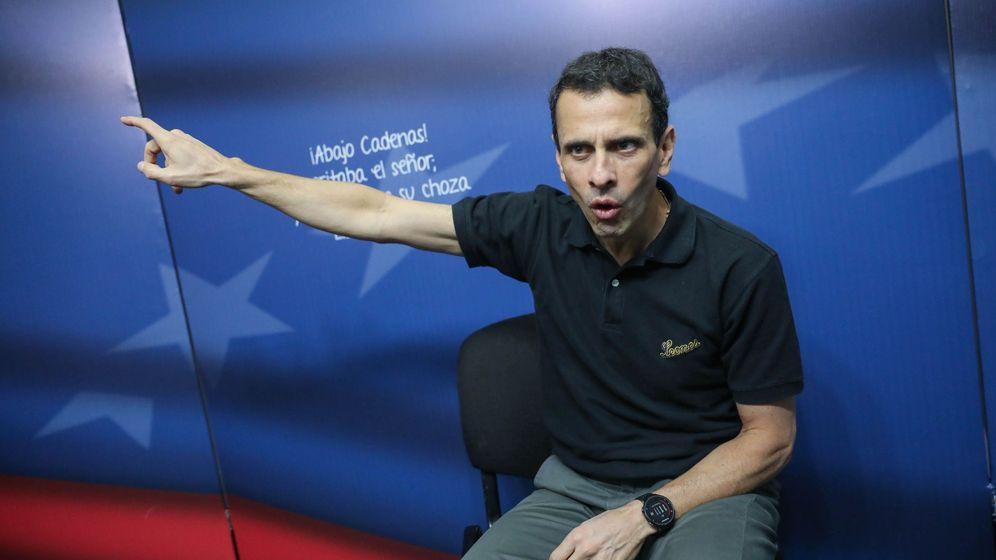 Foto: El dos veces candidato presidencial opositor venezolano Henrique Capriles. (EFE)