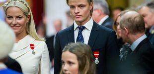 Post de El hijo de Mette-Marit, irreconocible: el cambio de look de Marius Borg