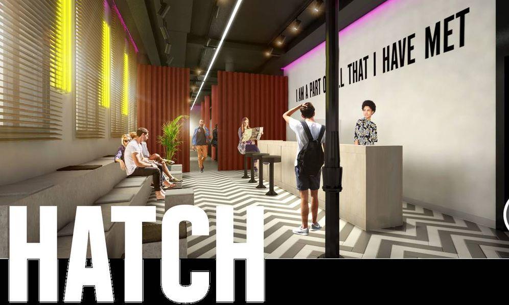 Foto: Imagen del futuro Hatch Hostel.