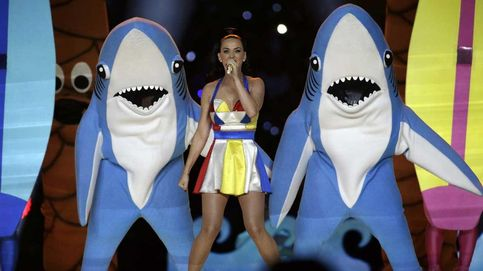 El traje del bailarín disfrazado de tiburón de Katy Perry