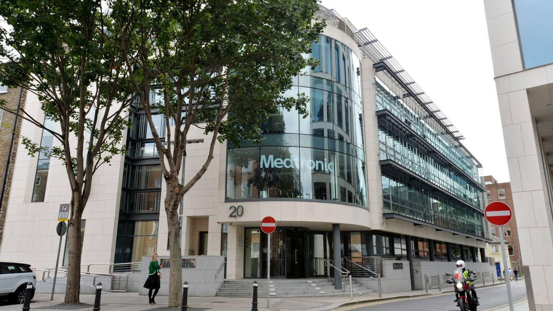La sede fiscal de Medtronic está en Dublín y no en Memphis, para ahorrar impuestos. (A.Betson / 'The Irish Times')