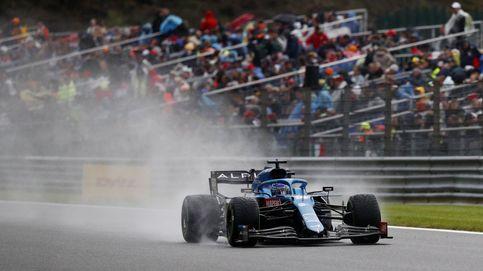 En directo F1 | Se retrasa la salida a causa de la fuerte lluvia que azota el circuito