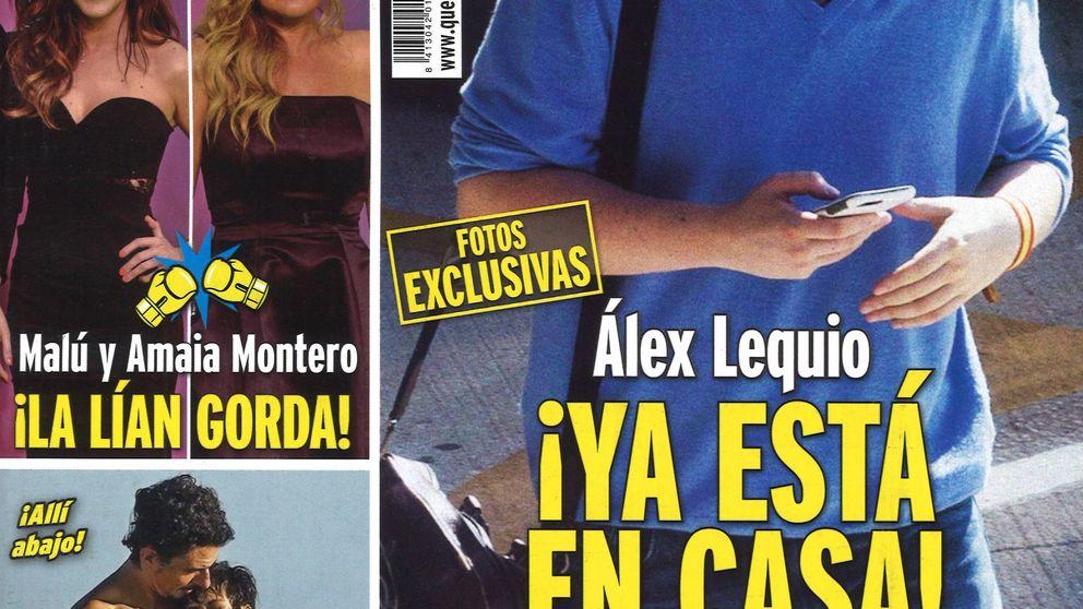 El regreso de Álex Lequio a España y la salud de Concha Velasco
