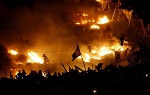 Testigo directo en Kiev: el asedio a la plaza de la Independencia