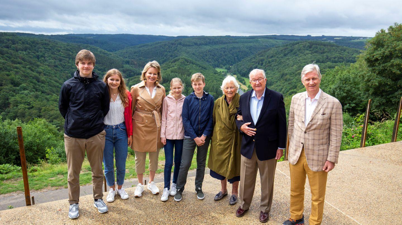 La familia real belga, este fin de semana de excursión. (Reuters)