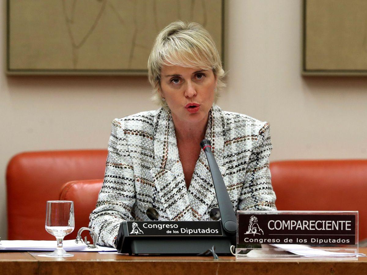 Foto:  La secretaria de Estado de Digitalización e Inteligencia Artificial, Carme Artigas. (EFE)