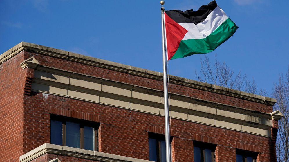 Foto: La oficina de la Organización para la Liberación de Palestina en Washington, en una foto de archivo. (Reuters)