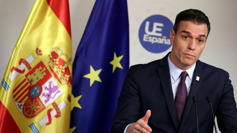 Pedro Sánchez, presidente del Gobierno, tras una cumbre europea. (Reuters)