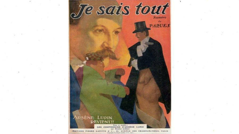 Revista 'Je sais tout' donde comenzó a publicarse la historia de Lupin.