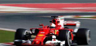 Post de El fantasma de Montmeló: Ferrari es el favorito, delante de Mercedes y Red Bull