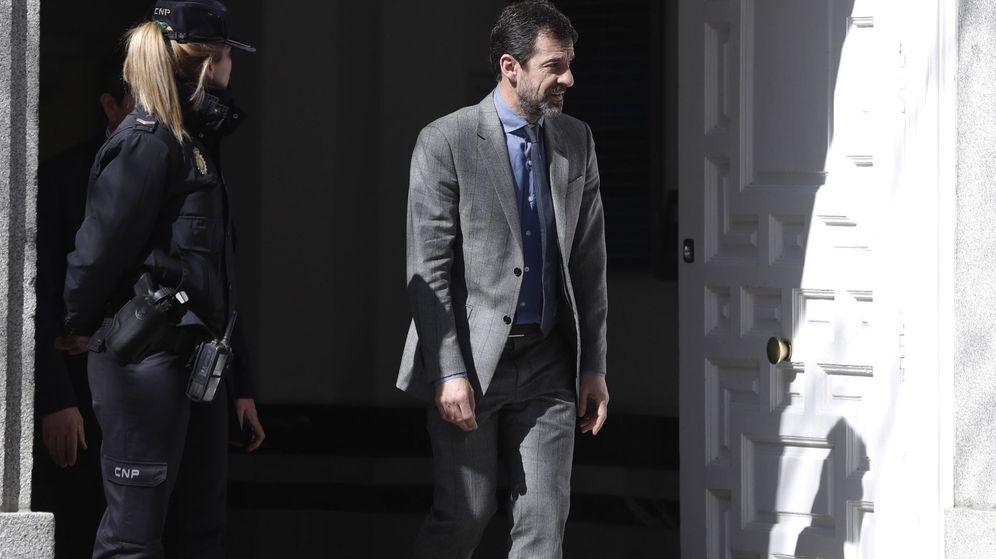 Foto: Ferran López comparece en el Supremo. (EFE)