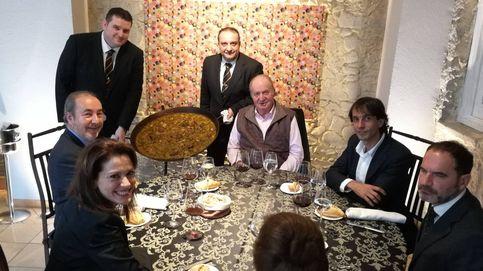 Don Juan Carlos retoma su agenda gourmet con un arroz junto a la infanta Margarita