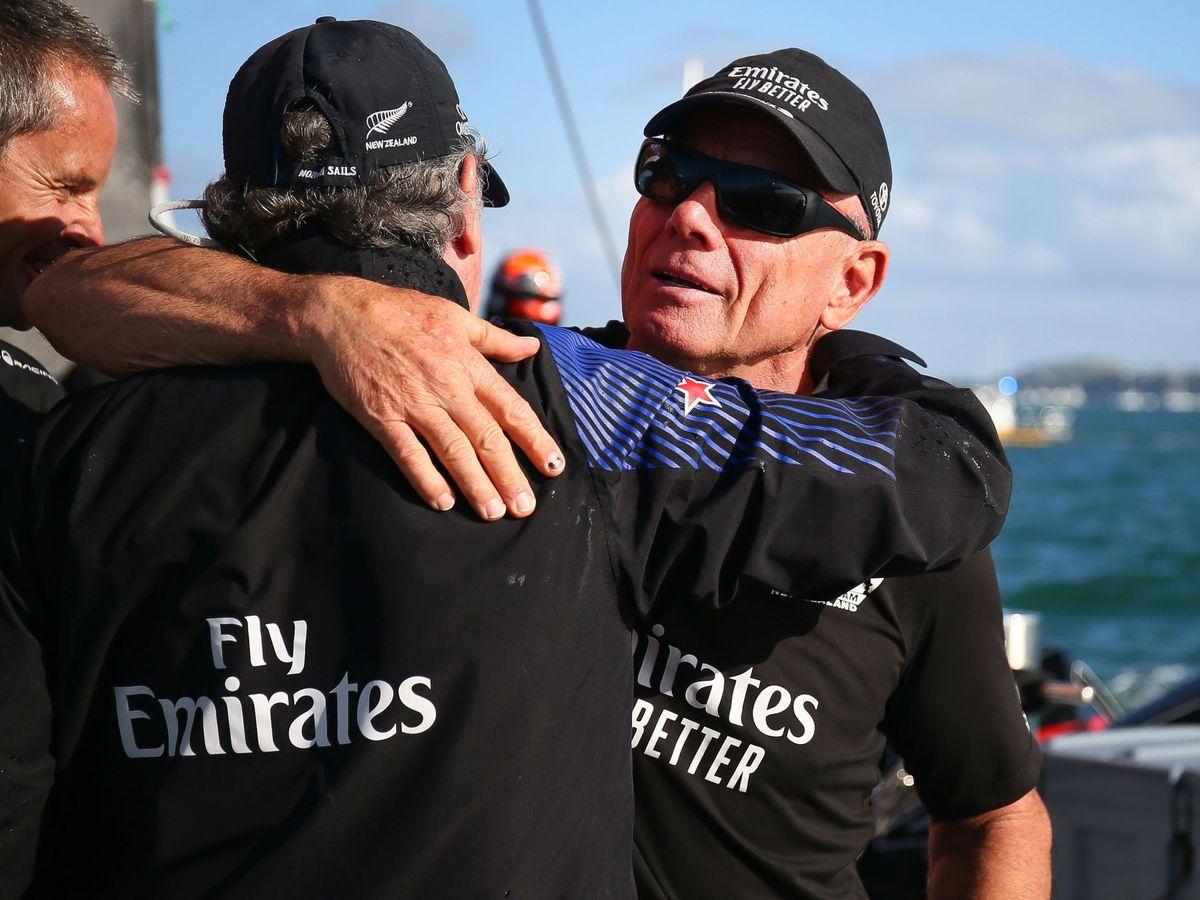 Foto: El CEO del New Zealand, Grant Dalton, tras ganar la 36ª edición de la America's Cup en Auckland. (Reuters)