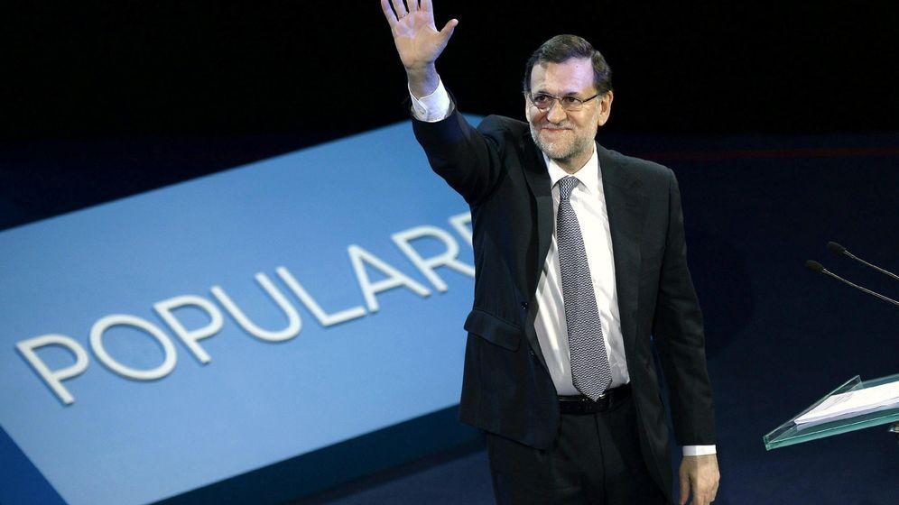 Foto: El presidente del Gobierno, Mariano Rajoy, clausura una convención nacional del PP. (EFE)