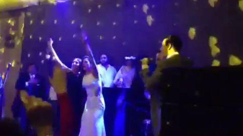 Lourdes Montes se desata en la boda de sus cuñados y luce nuevo modelito