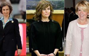Las anécdotas de la reina Sofía, Soraya o Aguirre en el Bildelberg
