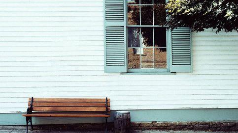 Bancos de madera para sentarse al sol o decorar tu casa