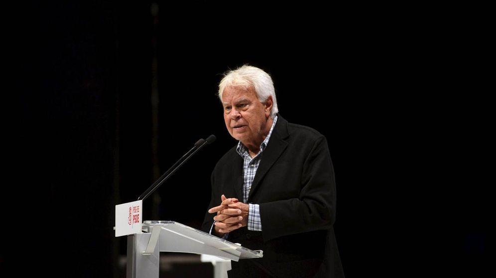 Foto: El expresidente del Gobierno Felipe González. (Reuters)