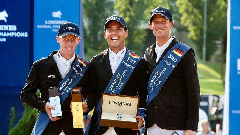 Sergio Álvarez Moya, vencedor en Berlín. (Longines Champions Tour)