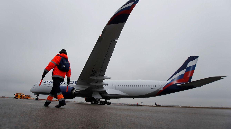 Foto: Un A350 de la aerolínea rusa Aeroflot. (Reuters)
