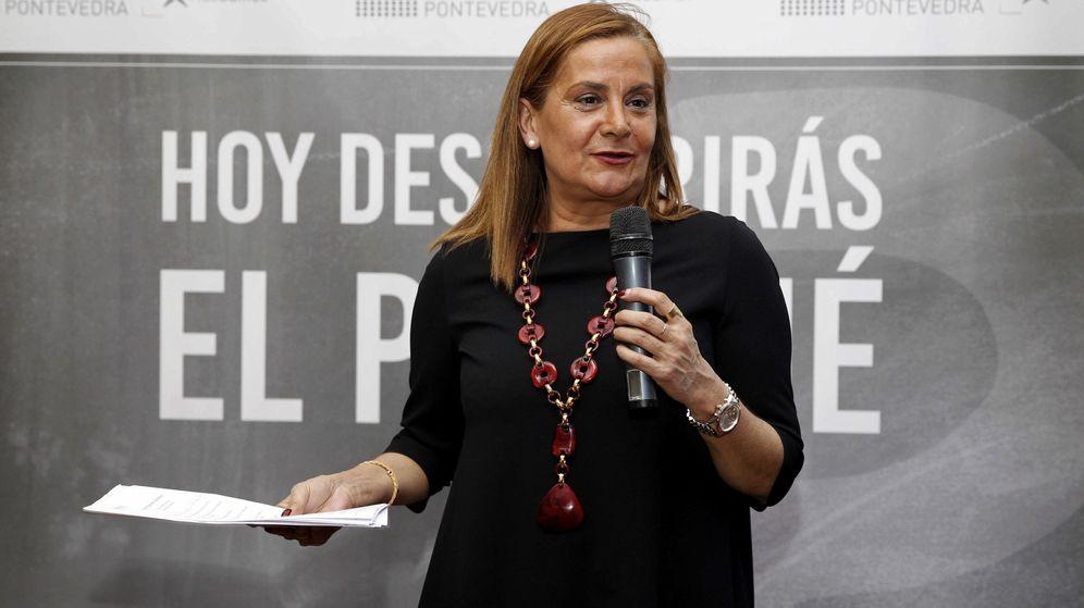 Foto: La presidenta de la Diputación de Pontevedra, Carmela Silva. (EFE)