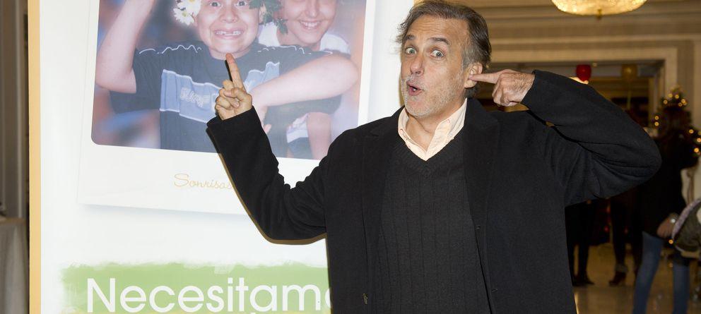 Foto: Paco Arango, en un acto de la Fundación Aladina contra el cáncer infantil (Gtres)