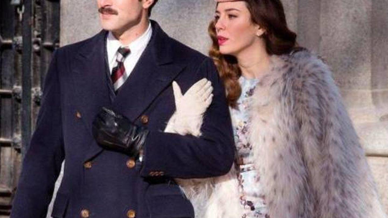 Javier y Blanca, en 'Lo que escondían sus ojos'. (Mediaset)