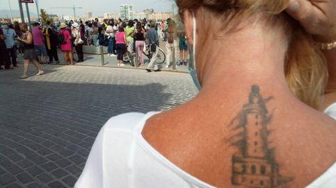 Málaga no quiere ser un emirato: concentración contra la torre del puerto