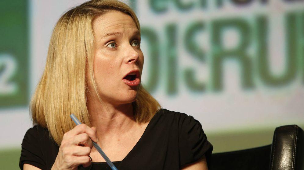 Foto: Marissa Mayer, consejera delegada de Yahoo.