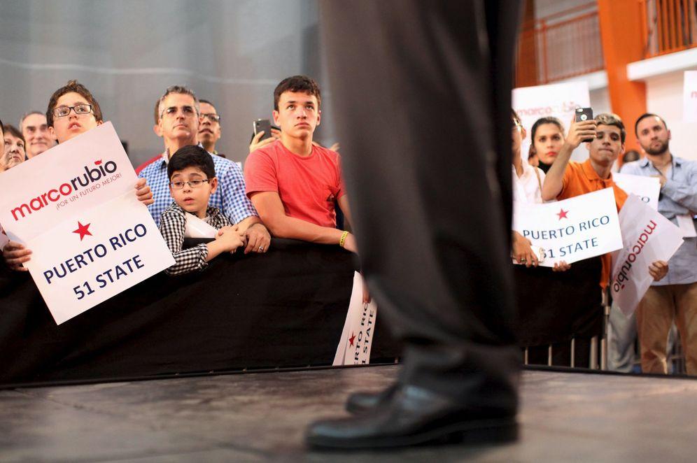 Foto: Votantes de Marco Rubio durante un mitin del candidato en Toa Baja, Puerto Rico, el 5 de marzo de 2016 (Reuters).