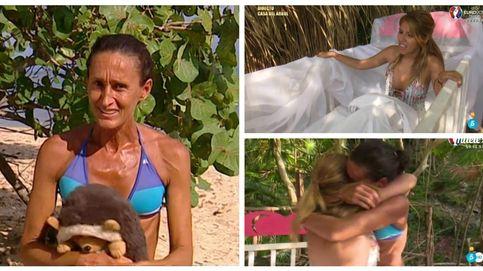 'Supervivientes' - Una 'desterrada' Dulce encuentra a Chabelita en una cuna