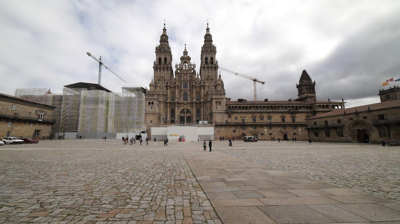 La Plaza del Obradoiro. (EFE)