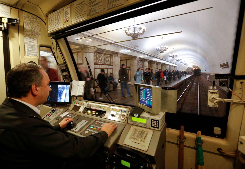 La vida oculta del metro de mosc fotogaler as de mundo - La maquinista metro ...