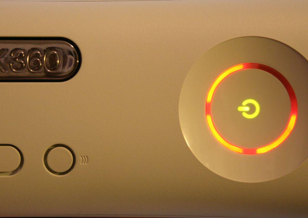Foto: Las tres luces rojas que delatan un error de 'hardware' en la Xbox 360