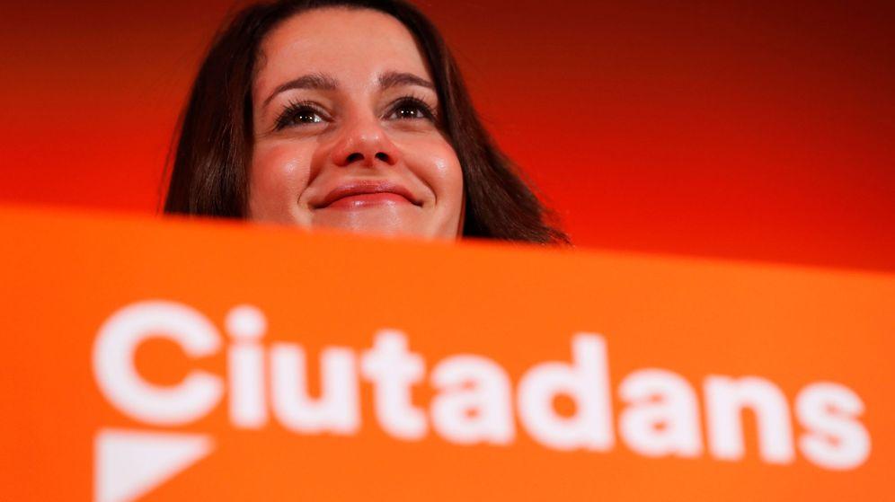 Foto: Inés Arrimadas, líder de Cs en Cataluña. (Reuters)