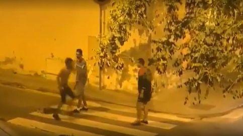 Un grupo de jóvenes se enzarza con katanas en Barcelona