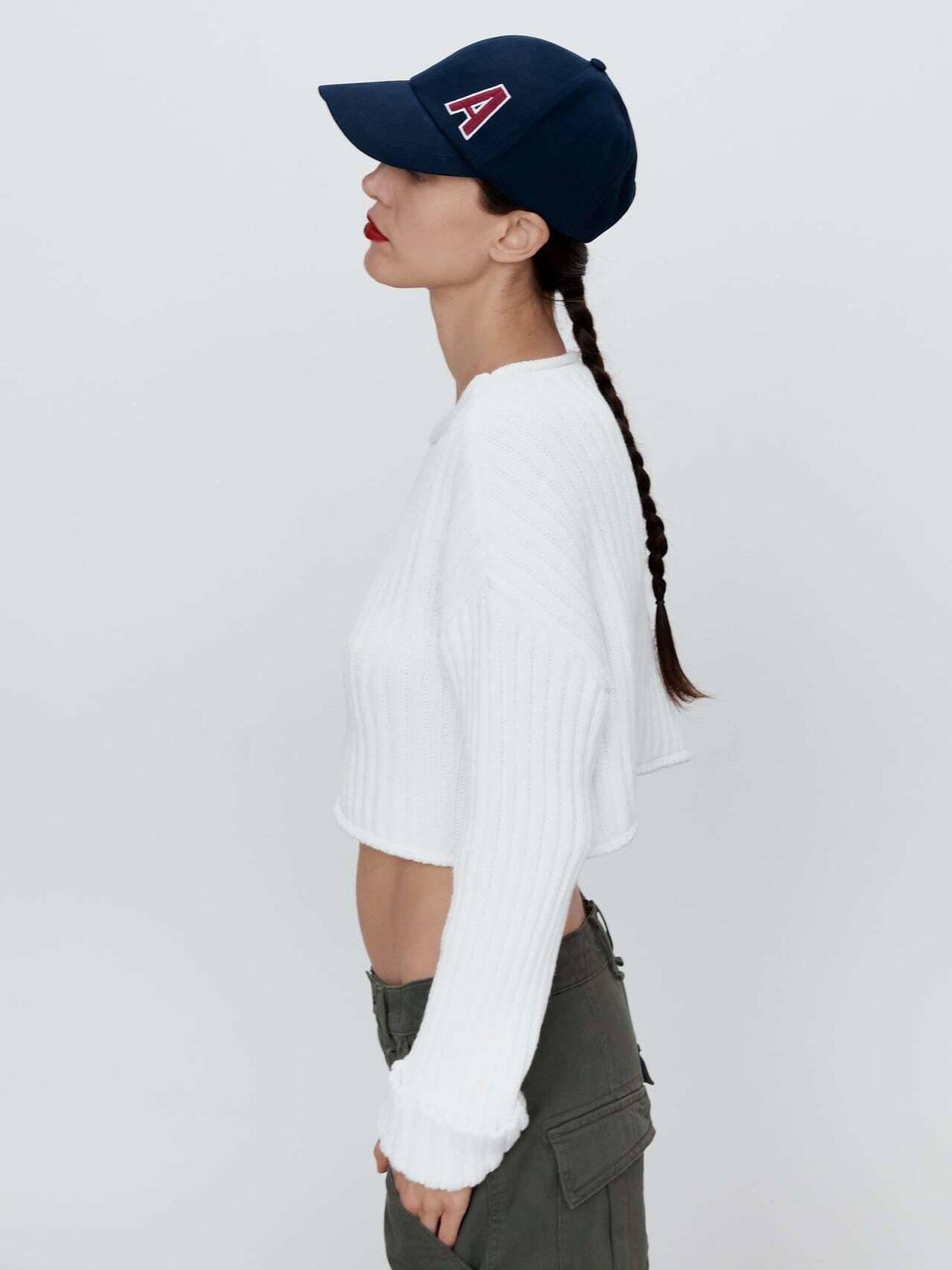 La gorra personalizada 'made in Zara'. (Cortesía)